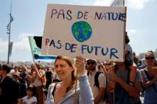 Thousands March in French Cities to Demand Action Against Climate Change