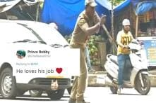 WATCH: This Cop in Odisha Dances While Controlling the Traffic. Really.