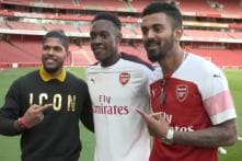 KL Rahul and Umesh Yadav Have a Day Out at Arsenal Football Club