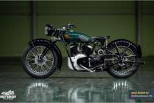 80-Year Old Restored Royal Enfield KX 1140 Has the Company's Biggest Engine Ever - Video
