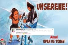 'Gone Too Far': Amul's Latest Cartoon on Serena Williams Leaves No One Impressed
