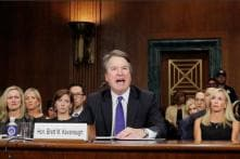 'Last Supper, But For Feminism' Viral Photo From Brett Kavanaugh Hearing Compared To Renaissance Painting