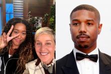 Will a Text from Ellen DeGeneres Play Cupid to Naomi Osaka and Michael B. Jordan?