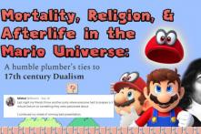 This Girl Made a PPT Comparing Mario To a 17th Century Philosophy Theory