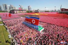 North Korea Holds 70th Anniversary Parade, Without the Missiles