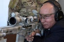Russian President Vladimir Putin Shows Off Sniper Firing Skills