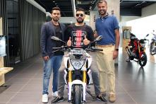 Yuvraj Singh Takes Delivery of BMW Motorcycle Worth Rs 2.99 Lakh