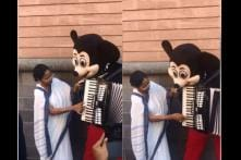 WATCH: Mamata Banerjee Plays 'Hum Honge Kamyab' on Mickey Mouse's Accordion in Germany