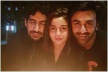 Alia Bhatt Shares an Adorable Picture With Ranbir Kapoor and Ayan Mukerji Goofing up With Balloons; See Post