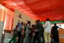 Two BJP Leaders Attack Each Other on Stage During Vasundhara Raje Rally in Rajasthan