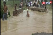 Heavy Downpour Lashes Moradabad, Several Villages Inundated