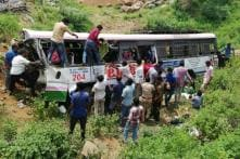 57 Pilgrims Dead as Bus Plunges Into Valley in Telangana's Jagtial District
