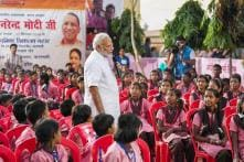 PM Modi in Varanasi on His 68th Birthday; Gives Pep Talk to Young Schoolchildren
