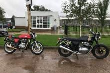 Royal Enfield Continental GT 650 Spotted Prior to India Launch