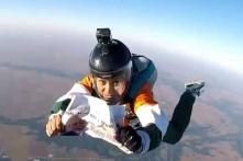 Modi Gets Birthday Greeting From 13,000 Feet Above as Woman Skydives to Wish Him