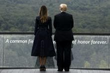 Scolded on Twitter, Trump Pays Sober Tribute to 9/11 After Russia Tweets and Fist Pumps