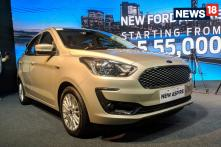 2018 Ford Aspire Facelift Launched in India for Rs 5.55 Lakh, Gets New Engine
