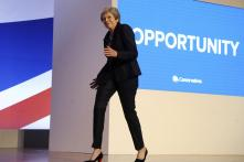 Dancing Queen: UK PM Theresa May Pokes Fun at Her Limited Dance Moves