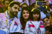Aaradhya's Cute Gesture at Abhishek Bachchan's Football Match is Winning the Internet Right Now