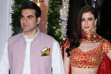 Arbaaz Khan, Georgia Andriani Grace Shilpa Shetty's Diwali Party