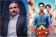 Saif's Baazaar Earns Rs 11.93 Cr in 3 Days, Ayushmann's Badhaai Ho Gets Closer to Rs 100-Cr Mark