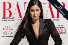 Katrina Kaif Sets Fashion Goals High With Her Black Suit and Peplum Look