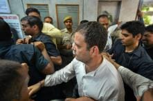 Rahul Stages Sit-in at Police Station After Protest, Says Removing CBI Chief Won't Help PM Modi