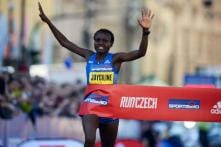 World Record Holder Joyciline Jepkosgei Ready for  Tirunesh Dibaba Challenge for Delhi Half Marathon