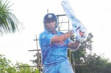 Fans Erect 35-Foot Cut-out of MS Dhoni in Tribute Ahead of 5th ODI in Trivandrum