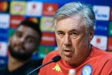 Napoli's Carlo Ancelotti Unhappy With Referee for Liverpool Clash
