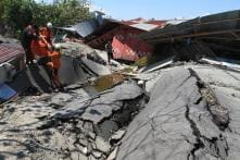 Indonesian Survivors Desperate to Flee Disaster Zone as Death Toll Climbs