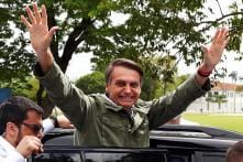 Fireworks and Flags as Right-Winger Jair Bolsonaro Wins Brazil Presidential Election