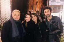 Alia Bhatt, Ranbir Kapoor Join Neetu and Rishi Kapoor for a Family Dinner in New York, See Pics