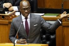Former South Africa Finance Minister Says Blackmailed After Sex Video Leaked
