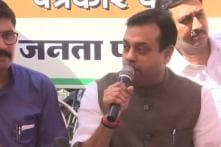 BJP Holds Press Meet Near 'Monument of Corruption' in MP, Cong Alleges Poll Code Violation