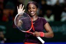 Stephens Stays Calm to Run Away From Osaka in Singapore