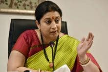 In Amethi, Smriti Irani Asks 'Ram Bhakts' to Question Rahul Gandhi on 'Janeu'