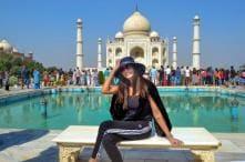 Romance Returns: Sushmita Sen Visits Taj Mahal with Rumoured Boyfriend Rohman Shawl