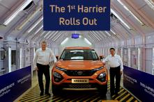 Upcoming Tata Harrier SUV Rolled Out from Pune Plant, Developed in Collaboration with JLR