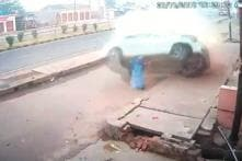 Speeding Car Flips in the Air After Hitting Divider as Driver Falls Asleep, 60-Year-Old Woman Killed