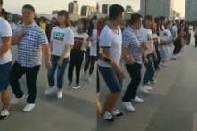 WATCH: This Video of 'Chinese Garba' Has Left Everyone Impressed Including Anand Mahindra