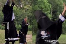 Ku Klux Klan Member Coaching His Kid 'White Power' is Drawing the Internet's Ire