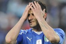 Italian World Cup Winner Iaquinta Jailed Over Arms, Mafia Links