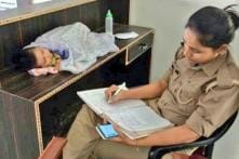UP Cop Brings Her Infant to Work, Gets Posting Near Home After Photo Goes Viral