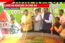 Chef In Nagpur Created World Record By Preparing 3000 Kg Of Khichdi