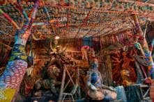 How Chinese Dragon Motifs and Lanterns Are Spicing Up Festival at This Puja Pandal in Kolkata