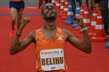 Gemechu Smashes Course Record, Belihu Wins Men's Race in Delhi Half Marathon