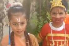 WATCH: Little Hanuman's Unexpected Twist to 'Jai Shri Ram' Has Left the Internet in Splits