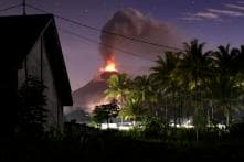 Indonesia Volcano Erupts on Tsunami-Hit Island, May Have Been Triggered by Week-Old Quake