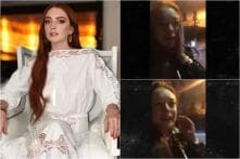 Lindsay Lohan Gets Punched in Face After She Accuses Homeless Family of Child Trafficking